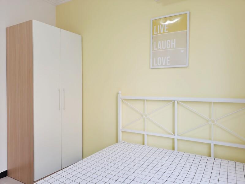 双桥远洋一方北润园合租房源卧室图