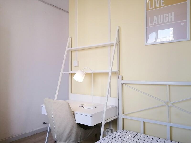 白石桥钢铁研究院合租房源卧室图