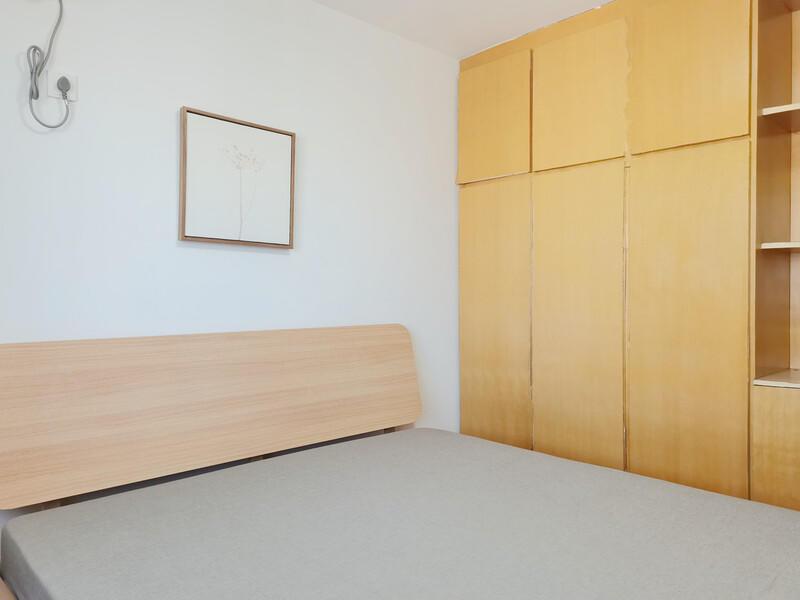 五棵松今日家园整租房源卧室图