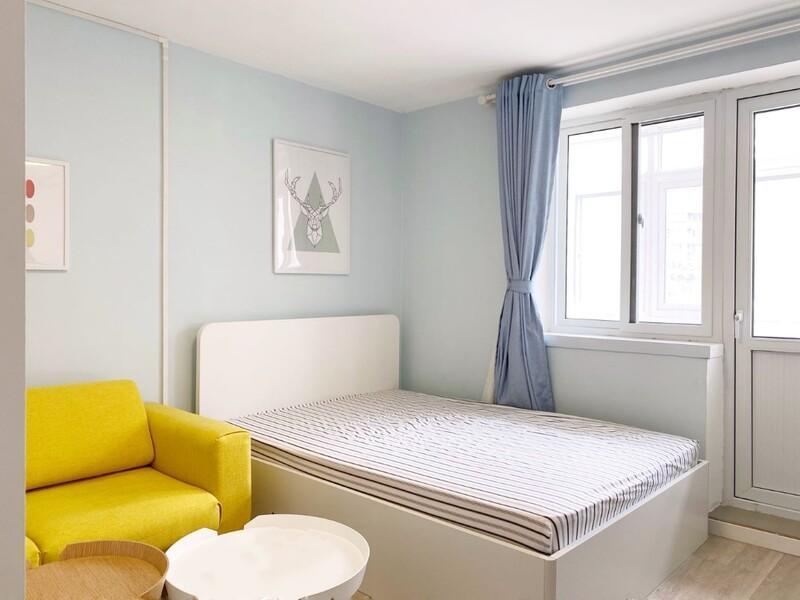 广安门车站西街17号院整租房源卧室图