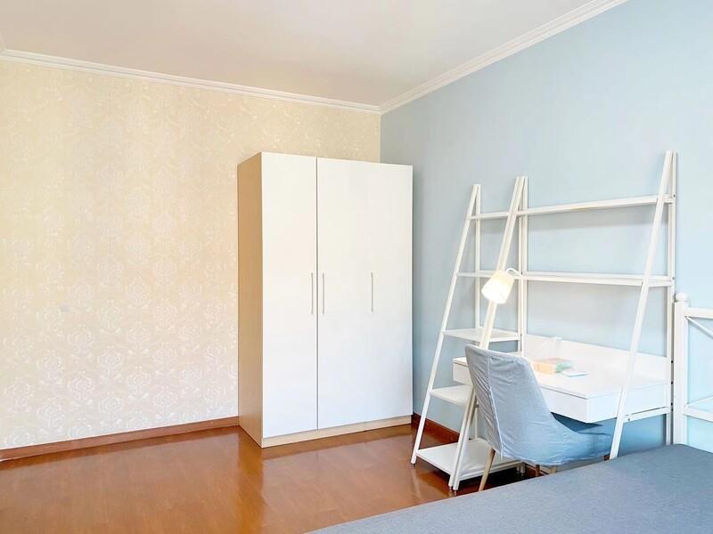 九棵树(家乐福)阿尔法社区二期合租房源卧室图