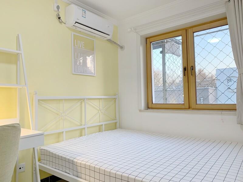 和平里和平街西苑合租房源卧室图