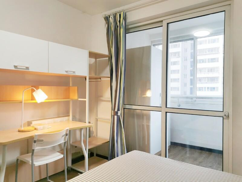 四惠京棉新城A1区合租房源卧室图