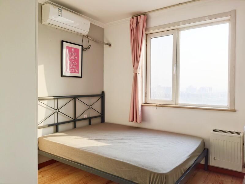 青塔梅市口路甲12号院合租房源卧室图