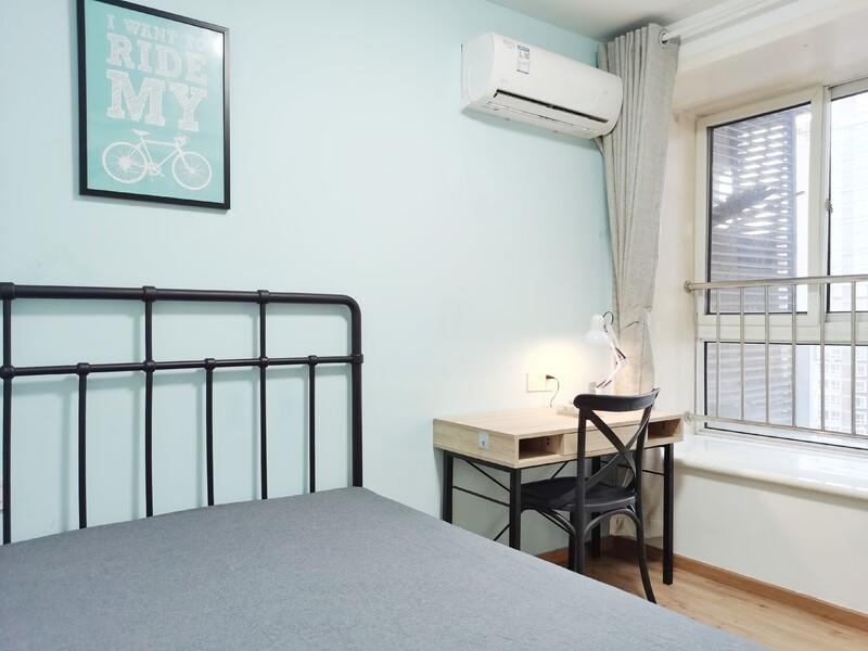 朝青国美第一城2号院合租房源卧室图