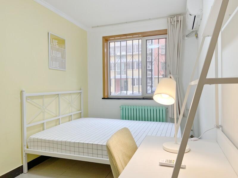 回龙观龙跃苑三区合租房源卧室图