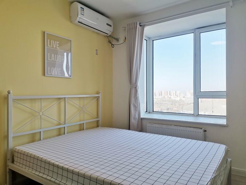 通州北苑京贸国际公寓合租房源卧室图