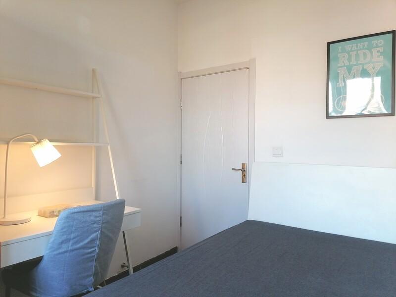 德胜门新外大街28号院合租房源卧室图