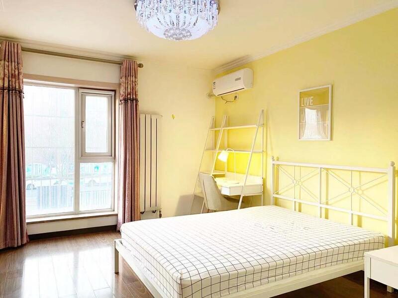 九棵树(家乐福)阿尔法社区三期合租房源卧室图