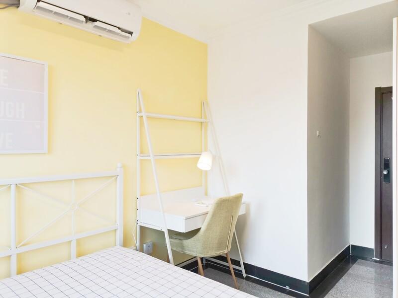 沙河建明里小区合租房源卧室图
