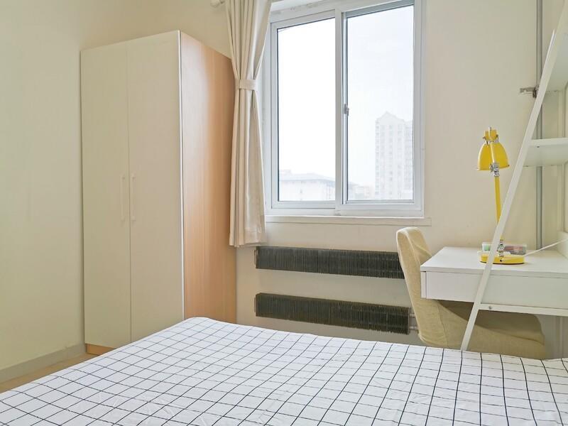 小西天新外大街21號院合租房源臥室圖