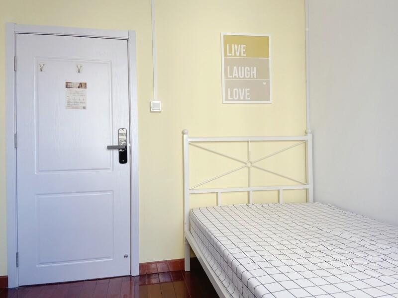 军博北蜂窝中路甲8号院合租房源卧室图