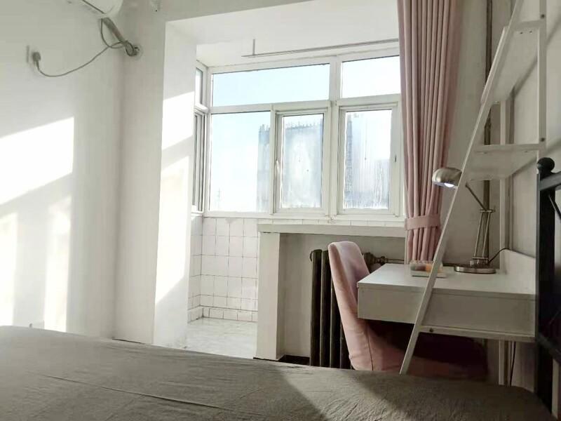 顺义城大东路住宅楼合租房源卧室图