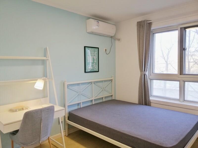 通州北苑长桥园公寓合租房源卧室图