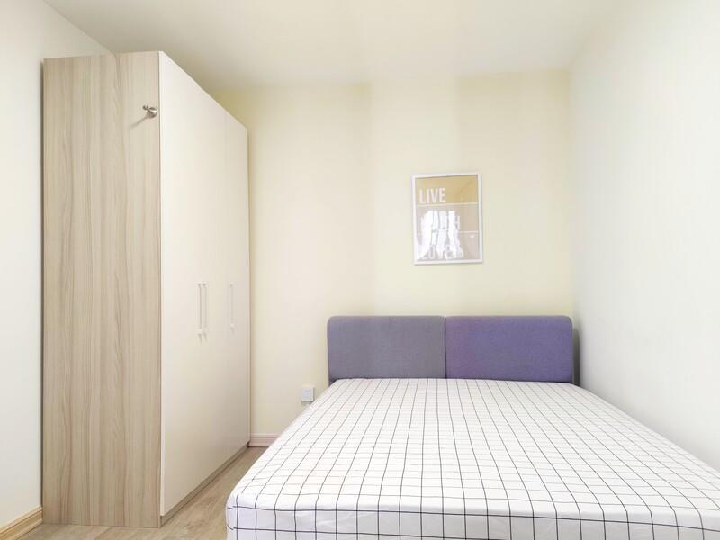 望京南湖东园一区合租房源卧室图