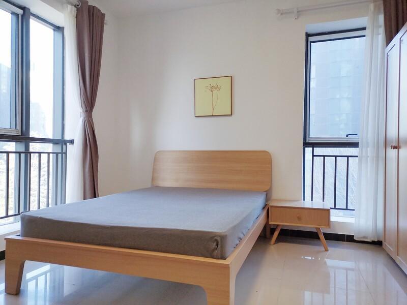 后沙峪东亚首航国际整租房源卧室图
