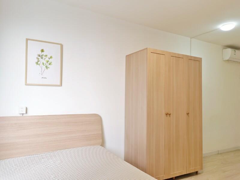 马连道茗筑合租房源卧室图