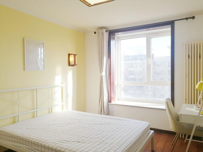 定福庄美然动力A1区合租房源卧室图