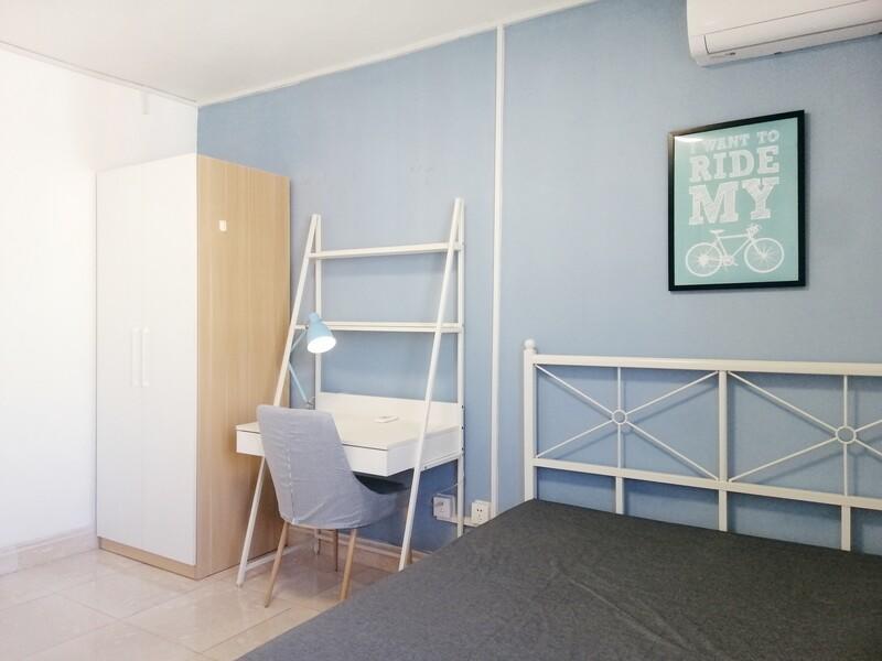 望京南湖渠西里合租房源卧室图