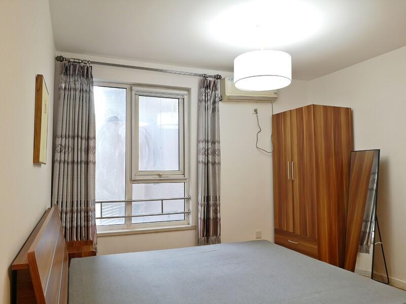 十里堡东恒时代三期整租房源卧室图