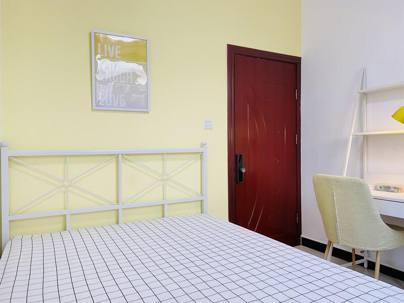 马坡鲁能7号院颐景溪园合租房源卧室图