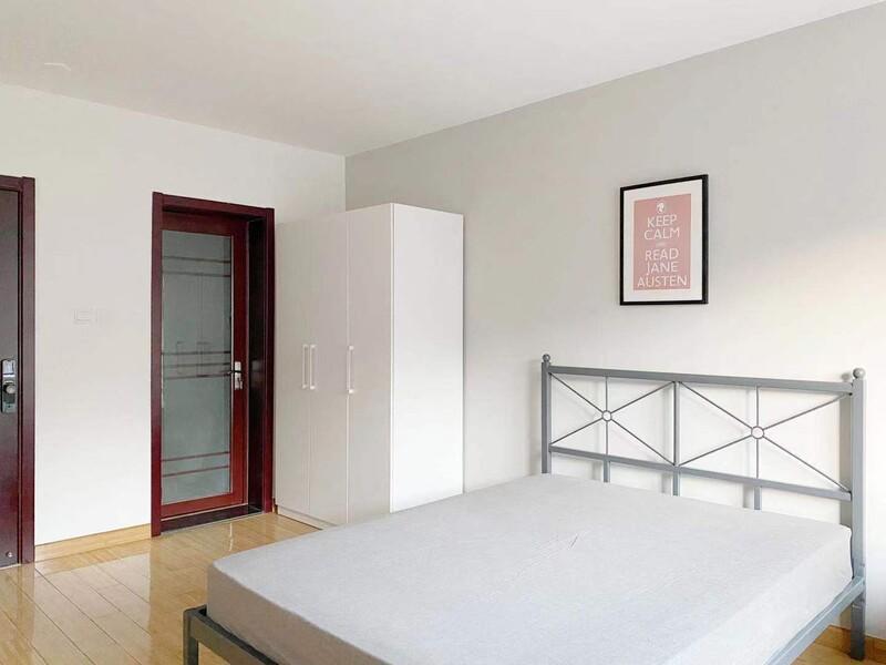 九棵树(家乐福)阿尔法社区合租房源卧室图