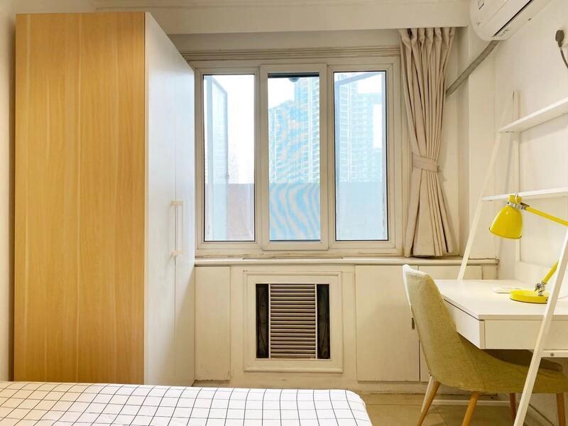 望京南湖东园二区合租房源卧室图